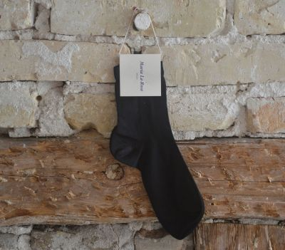 Maria La Rosa, ankle socks black