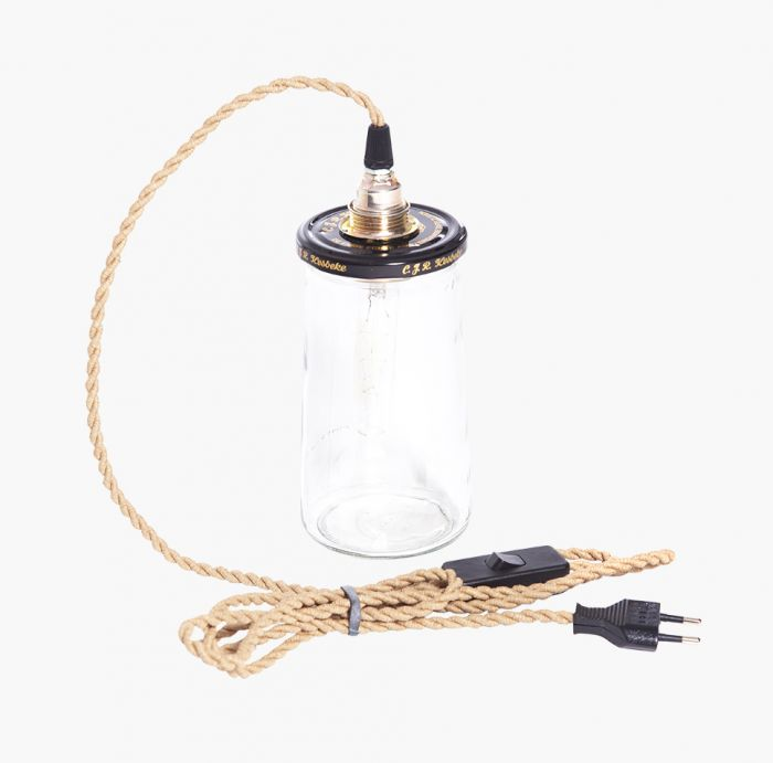 Rescued lampe small, lys ledning