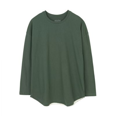 Aiayu - Dropped Shoulder Tee, Cactus