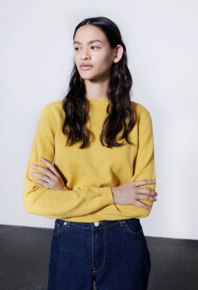 People's Republic of Cashmere sweater, Mustard