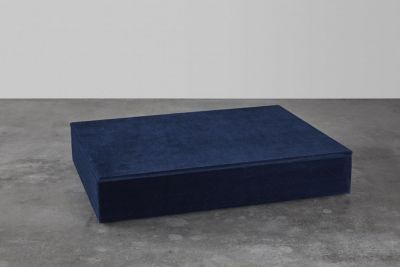 NTER - Dark blue box, velvet