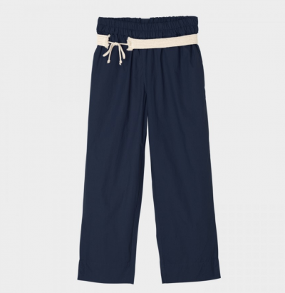 Aiayu Straight pant navy