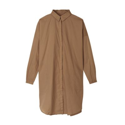 Shirt dress fra Aiayu i Tabacco