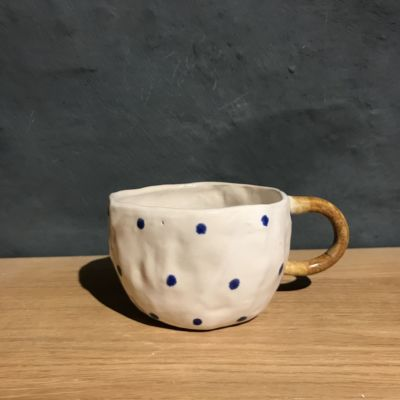 Christine thuesen blue dots kopper
