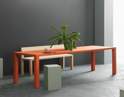 KOTO bord - orange blast linoleum