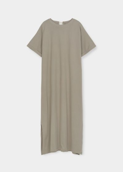 Aiayu - Jersey dress, seagrass