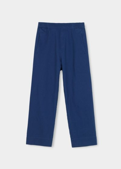 Aiayu - Coco pant twill, Japanese blue